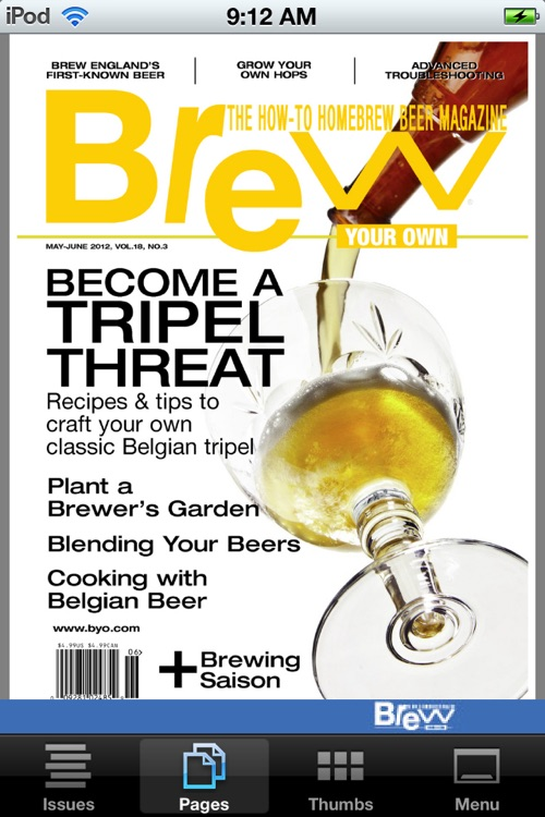 Brew Your Own Magazine Mobile