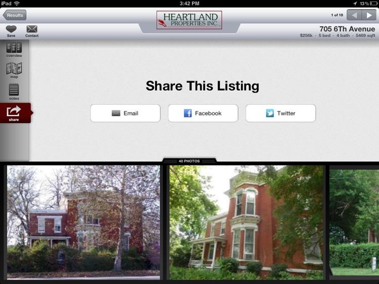 Heartland Properties Inc for iPad screenshot-4