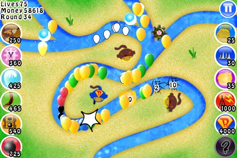 Bloons TD screenshot-3