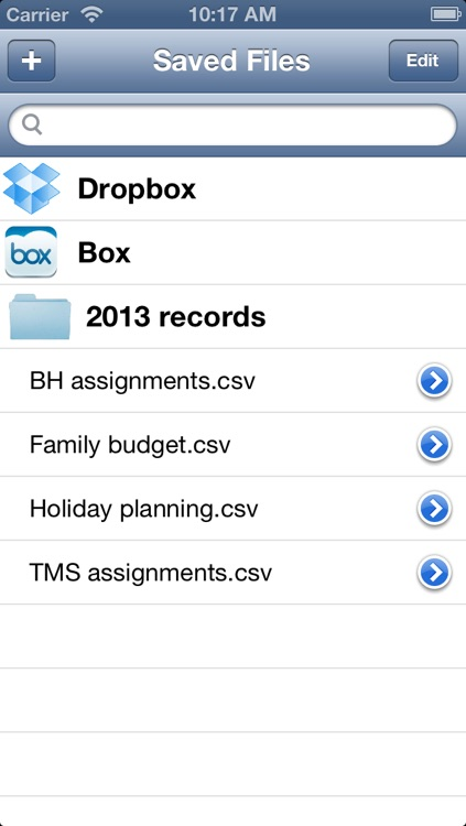 Tables: Create and Share table, spreadsheet - Compatible with Dropbox, Box screenshot-3