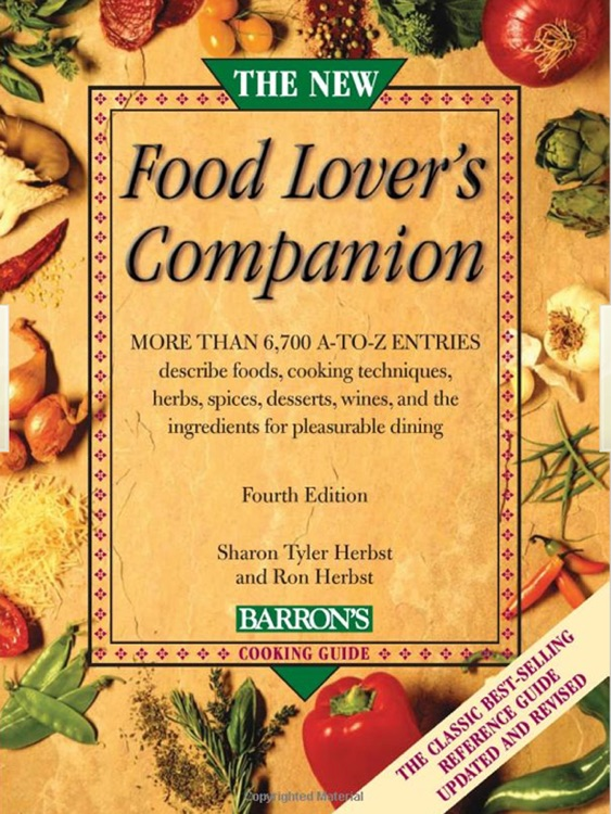 Barron's The New Food Lover's Companion, 4th ed. screenshot-0