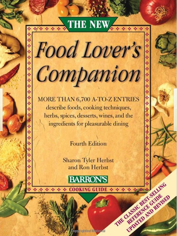 Barron's The New Food Lover's Companion, 4th ed.