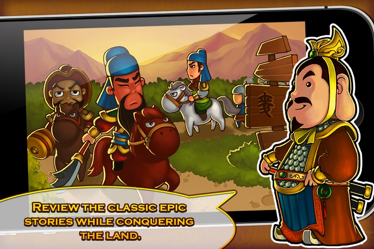 Three Kingdoms TD - Legend of Shu screenshot-4