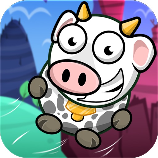 Flying Cow! icon