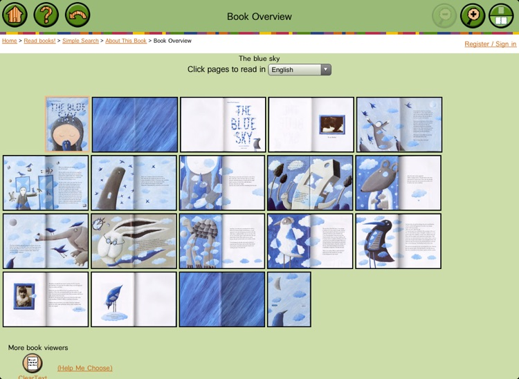 ICDL - Free Books for Children - International Children's Digital Library