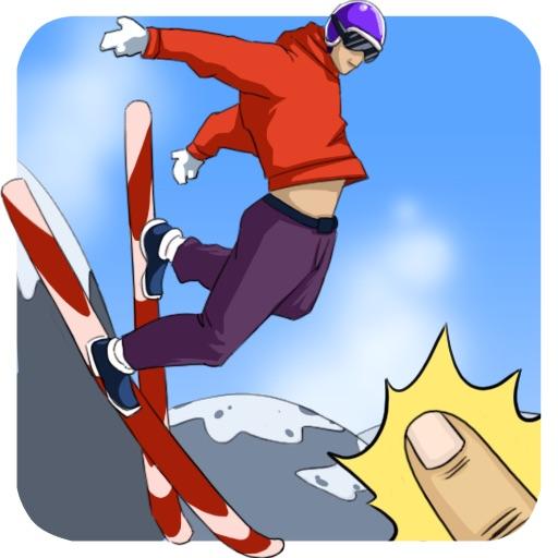 Crazy Ski-Flying HD