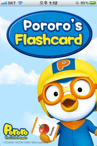 Screenshots of Pororo's Flashcard for iPhone