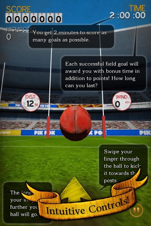 Flick Kick Aussie Rules screenshot-4