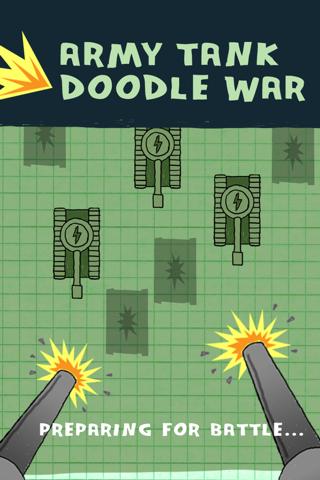 Ejército de Tanques de Guerra Doodle - Una Defensa Super Fun Juego Batalla Libre ( Army Tank Doodle War Free Game )Captura de pantalla de1