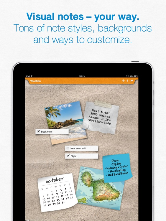 Sticky Notes iPad - Reminders & Notes App - with Alarms and Sharing