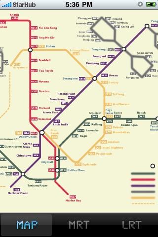 Singapore Subway/MRT Guide 新加坡地铁线路指南 screenshot-4