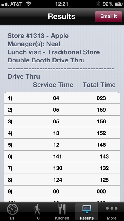 Fast Food Timer screenshot-1