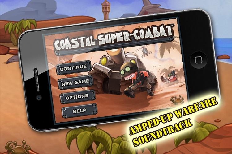 Coastal Super-Combat screenshot-4