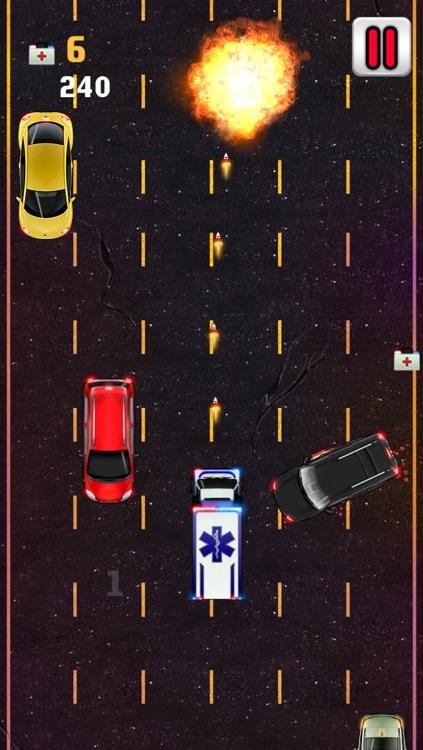 Ambulance Fun Race - Funny Racing Game screenshot-3