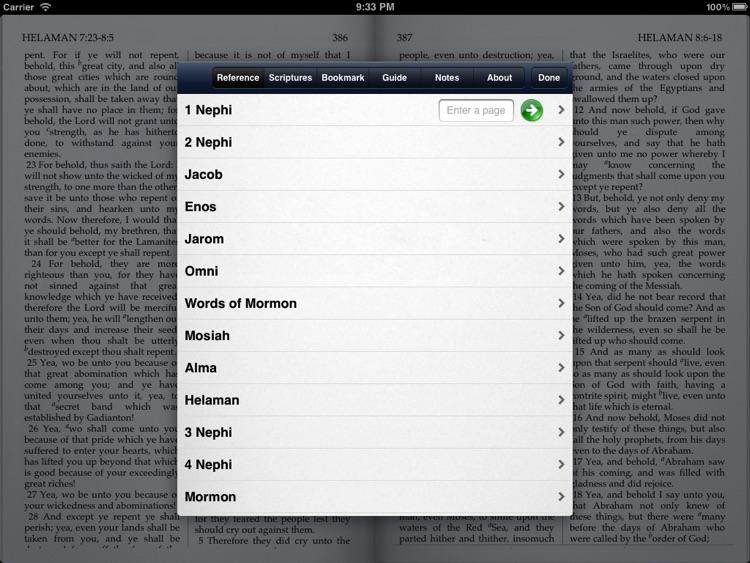 LDS Scriptures - The Book of Mormon screenshot-4