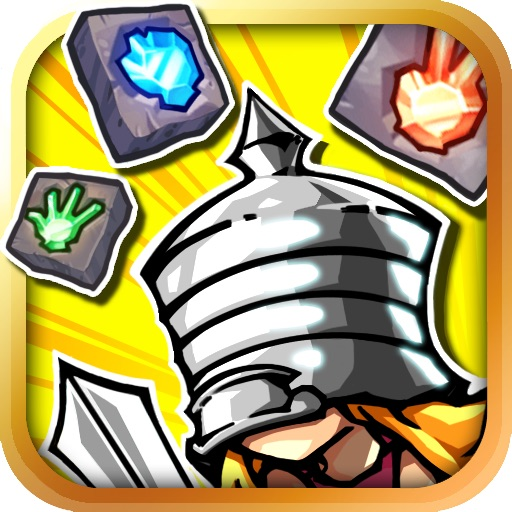 Dungeon Block: Girl, Rescues Knight! icon
