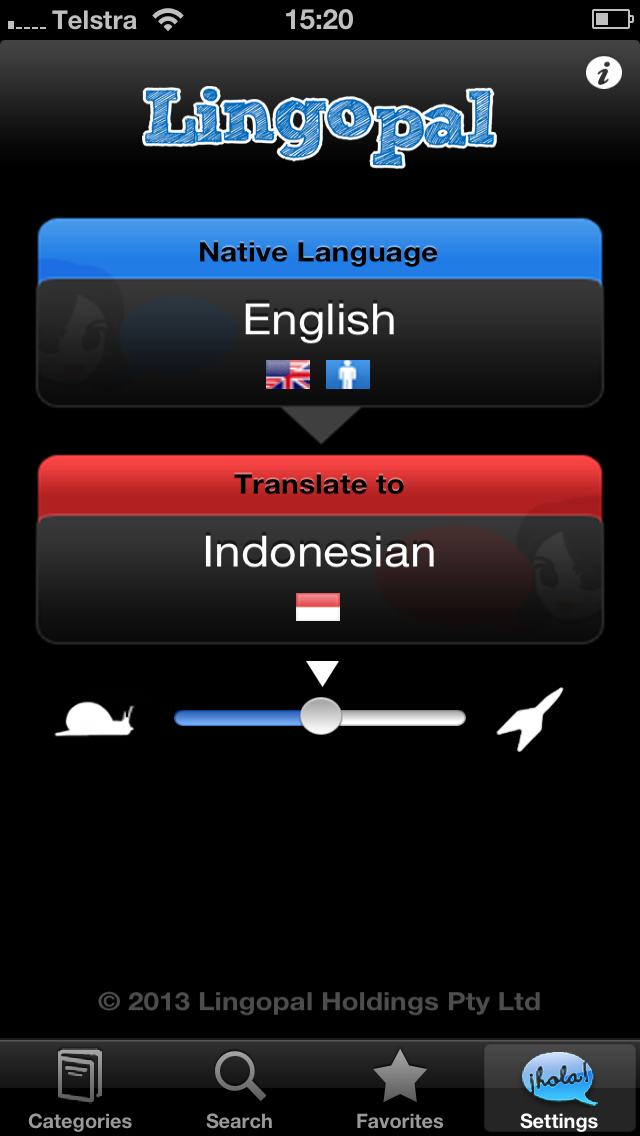 Lingopal Indonesian LITE - talking phrasebook