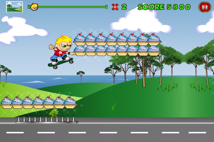 Extreme Kid Race Lite screenshot-2