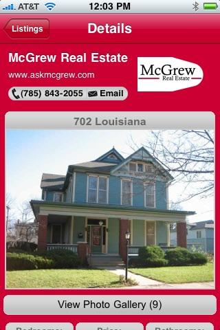Screenshot of McGrew Real Estate