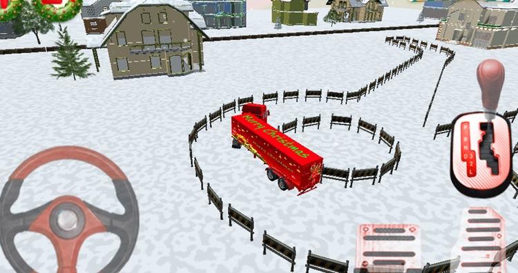 Christmas Truck Parking 3D screenshot-3