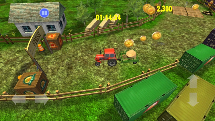 Tractor: Skills Competition - Farm Driver Skill Racing  Simulator Game