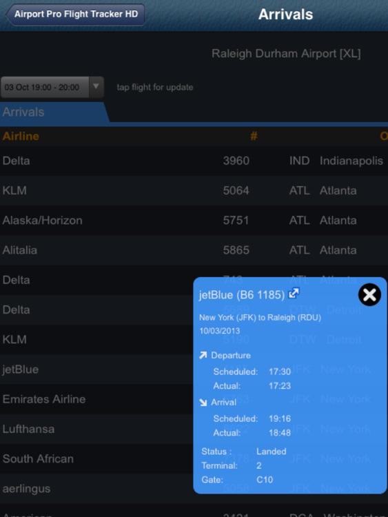 Raleigh Airport Pro (RDU) + Flight Tracker HD