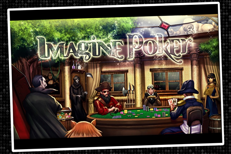 Imagine Poker ~ a Texas Hold'em series against colorful characters from world history! screenshot-3