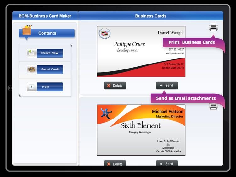 BCM  Business Card Maker