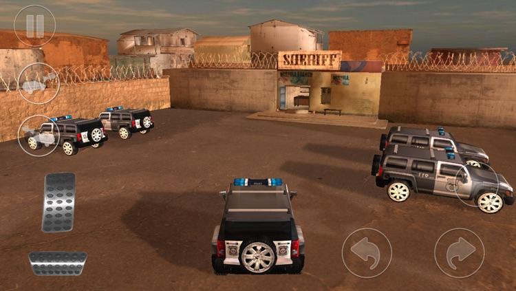 Mad Cop 4 : Hummer 4x4 Street Racing screenshot-3