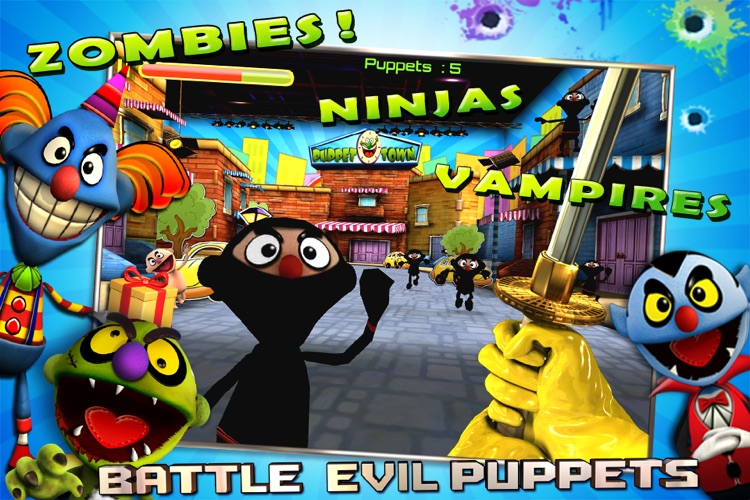 Puppet War:FPS screenshot-2
