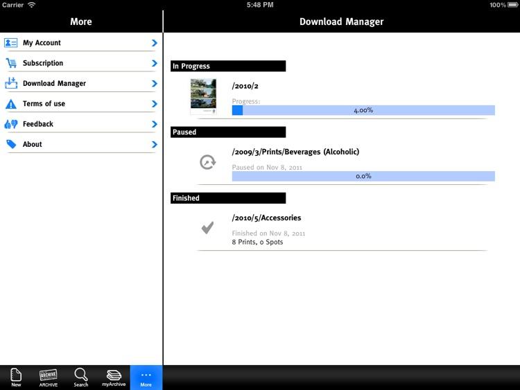 Lürzer's ARCHIVE for iPad screenshot-3