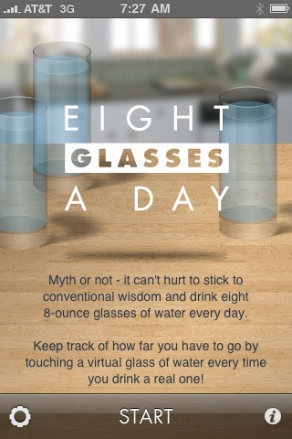 Eight Glasses a Day