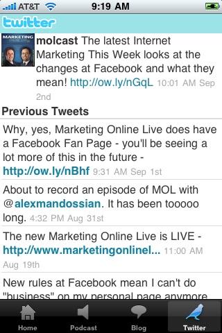 Screenshot of iMOL - Alex And Paul