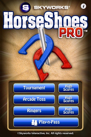 HorseShoes PRO™ - The Classic Game of HorseShoes
