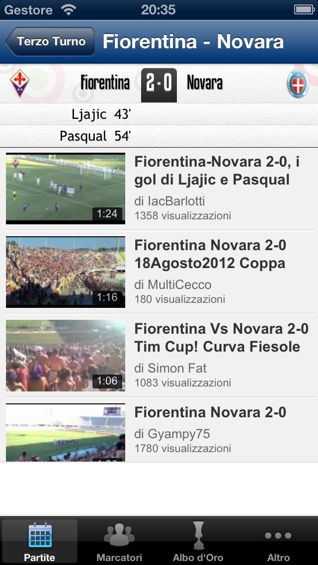 Coppa Italia Tube