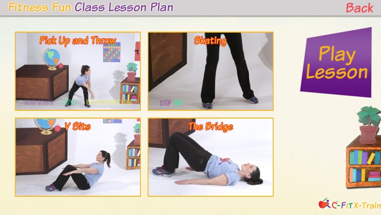 C-Fit XTrain - Classroom Fitness screenshot-1