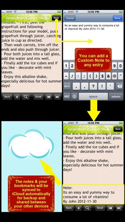 Alkaline Food Recipes screenshot-3