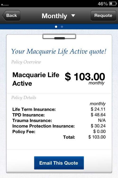 Macquarie Life - Life Insurance Quotes screenshot-3