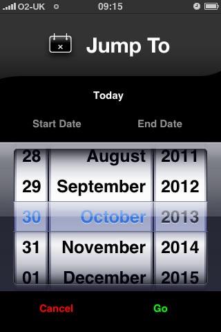 Screenshot of Date Calc Free