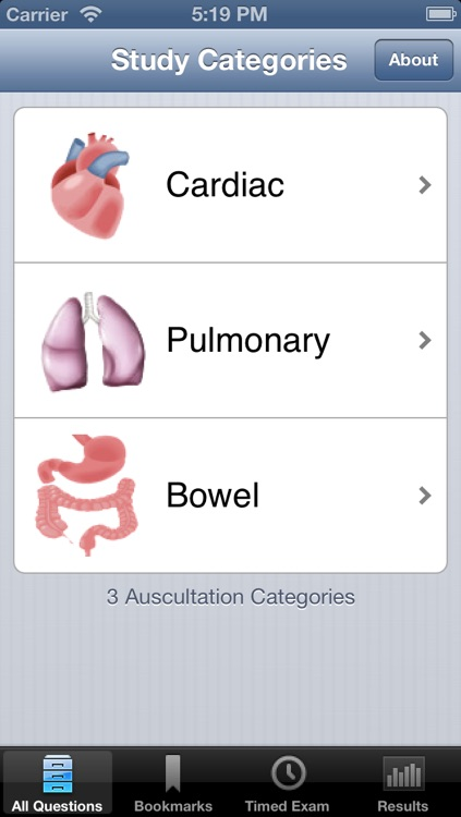 Auscultation screenshot-0