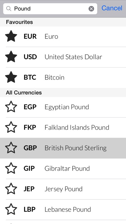 Curry PRO - Currency Converter for multiple international currencies screenshot-1