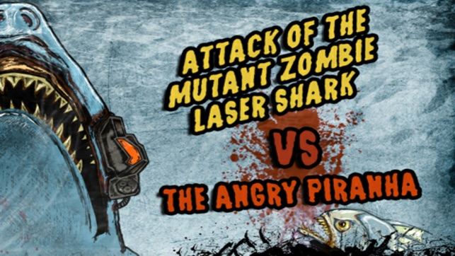 Attack Of The Mutant Zombie Laser Shark Lite vs The Angry Piranha (From Outer Space!)