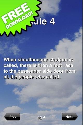 Rules of Shotgun
