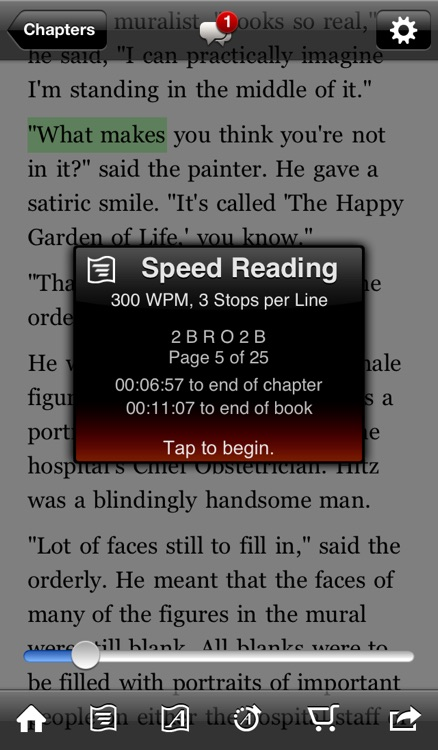 QuickReader Lite - eBook Reader with Speed Reading