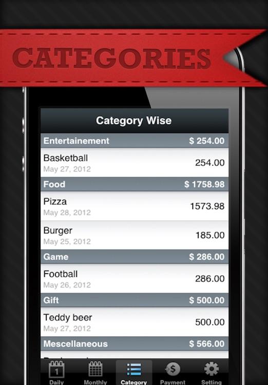 Daily Expense Manager Lite screenshot-4