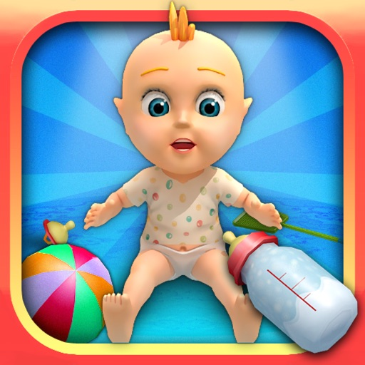 My Talking Baby Care 3D - kids games