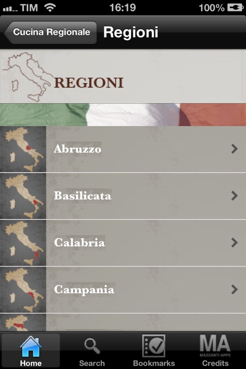 La Cucina Regionale Italiana screenshot-1