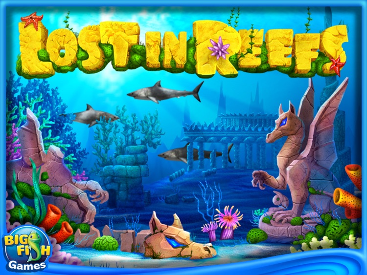 Lost in Reefs HD (Full) screenshot-0