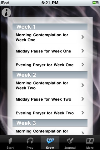 Beginning Contemplative Prayer screenshot-4