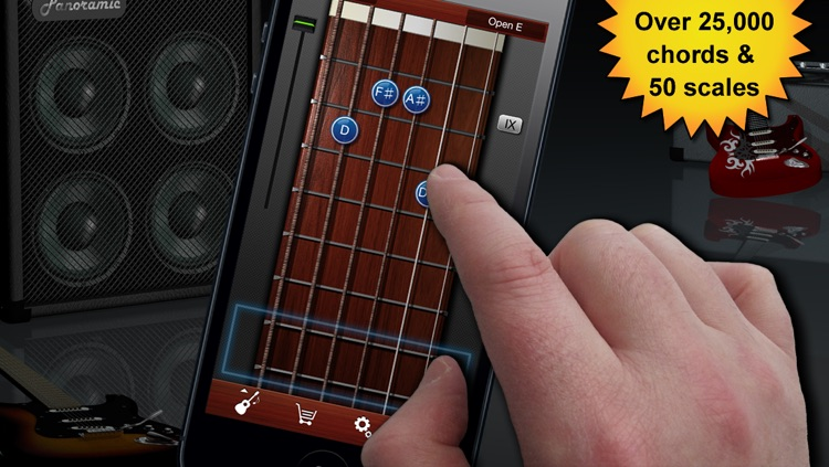 Guitar Suite Free - Metronome, Tuner, and Chords Library for Guitar, Bass, Ukulele screenshot-1